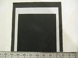 "12 SHEETS - 6"" x 6"" LIGHTWEIGHT  CUT AWAY MESH EMBROIDERY ST"