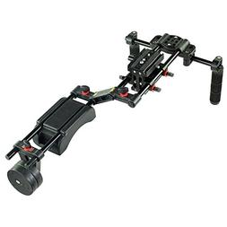 FILMCITY FC-10W DSLR Camera Shoulder Mount Support with Coun