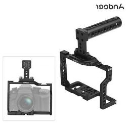 Andoer DSLR Camera Cage Top Handle Stabilizer Grip for Panas