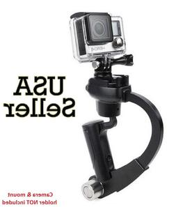 Black Mini Handheld Camera Stabilizer Video Steadicam Gimbal