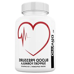 Premium Blood Pressure Support Supplement with Vitamins, Haw