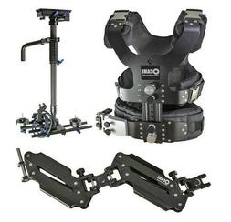 CAME 2-12kg Load Pro Camera Video Carbon Stabilizer + includ