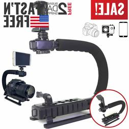 Camera Stabilizer DSLR Video Action Stabilizing Handle Grip