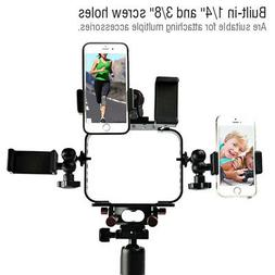 Cell Phone Video Shot Cage Stabilizer Film Making Rig for Fl