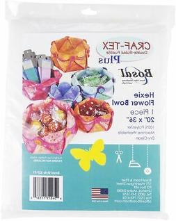 Bosal Craf-Tex Plus Double Sided Fusible Stabilizer-Hexie Fl