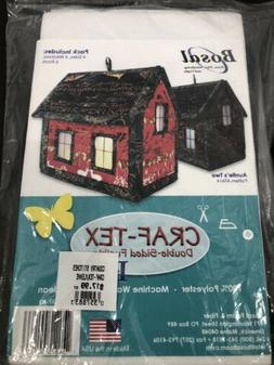 craf tex plus fusible double sided house