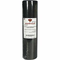 "Cut away 3.0 oz Black 12"" x 10 yards roll. SuperStable Embro"