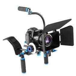 DSLR Rig <font><b>Camera</b></font> <font><b>Shoulder</b></f