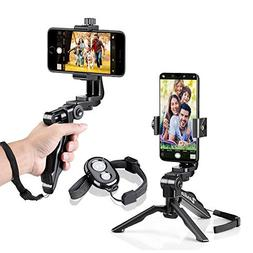 Zeadio Ergonomic Swivel Smartphone Handheld Grip Stabilizer