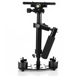 FOTOWELT Handheld Camera Stabilizer for Nikon Canon Sony Pan