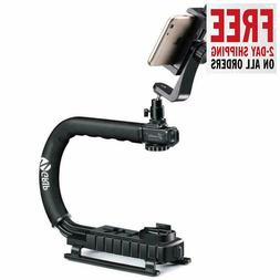 Zeadio Handheld Stabilizer, Smartphone Holder, 360 Degree Ro
