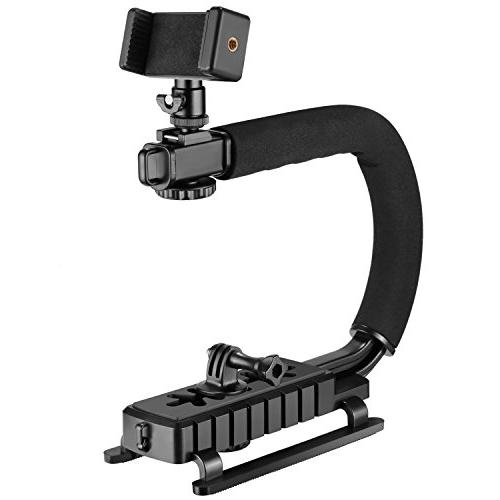 Neewer 4-in-1 C-Shape Rig Handheld Stabilizer for Low Positi
