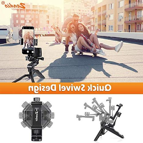 Zeadio Handheld Grip Stabilizer Handle All Samsung Phones, Angles Simultaneously