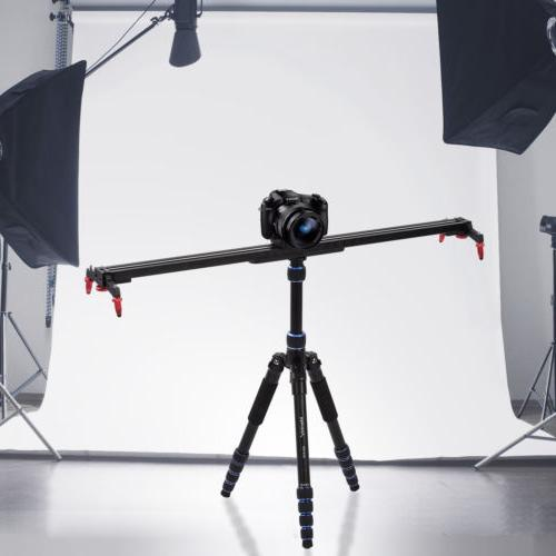 24 adjustable camera slider track rail stabilizer