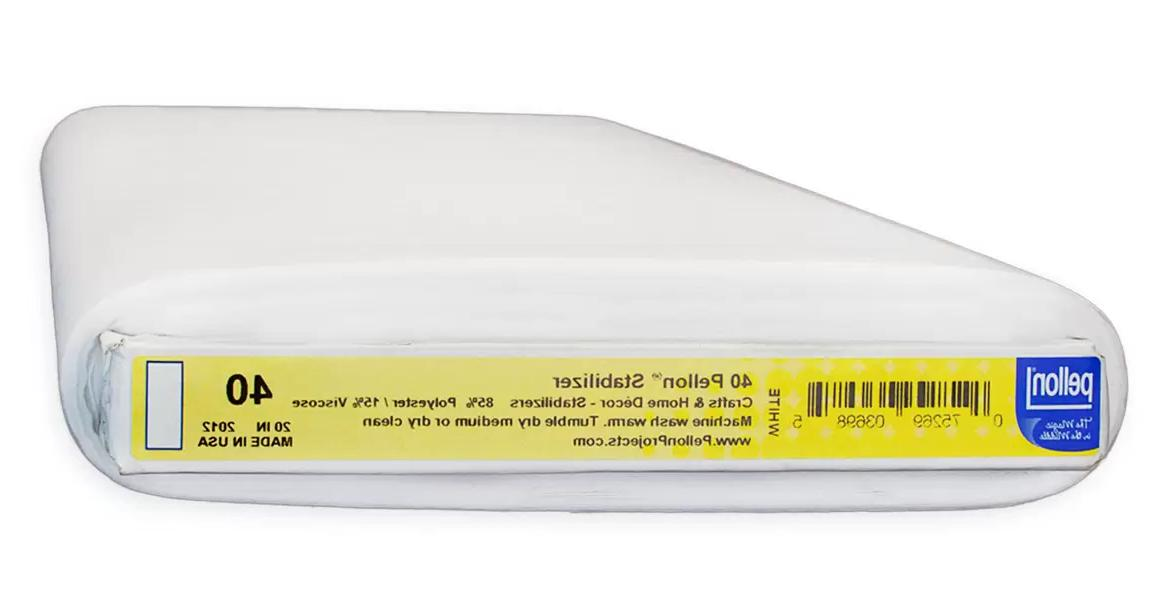 40 midweight stabilizer interfacing 20 wide by