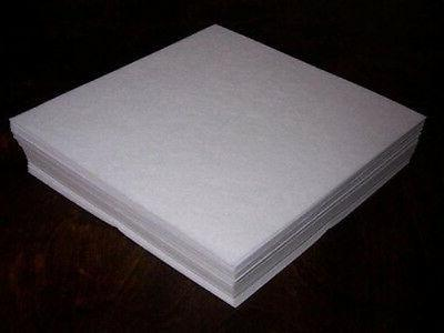 50 sheets tear away embroidery stabilizer backing