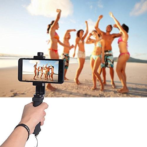 Cell Grip Handle Phone Selfie Stick Compatible Xs Max 8+ 7+ 6S+ 6S 6+ 6 5 9 S9 + Mode