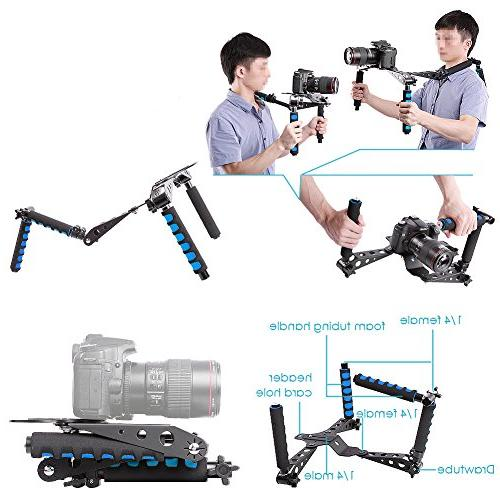 Neewer DSLR Film Mount Rig for Nikon Fujifilm Cameras and