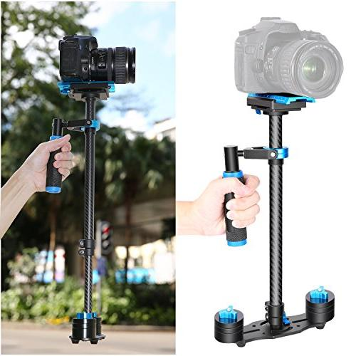 "Neewer 24""/60cm Handheld Release Plate 1/4"" 3/8"" and Cameras up to 6.6lbs/3kg"