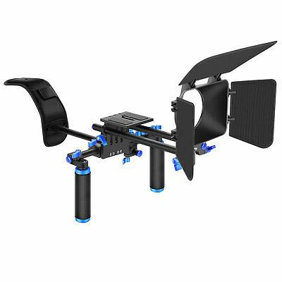 Neewer DSLR Movie Video Making Rig Set System Kit for Canon