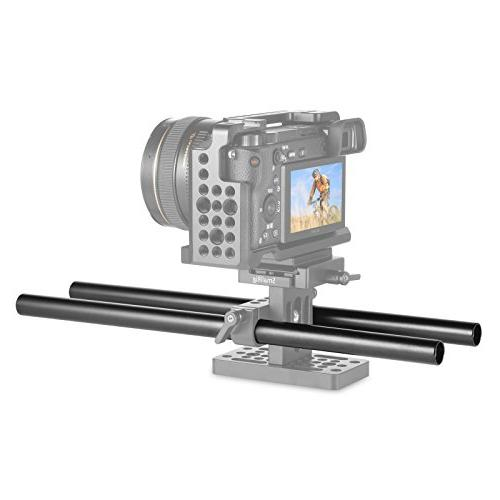 SmallRig 15mm Rods Aluminum Alloy 30 cm inch for Camera 15mm Rods Pack