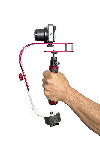 The video stabilizer GoPro, Smartphone, - or up