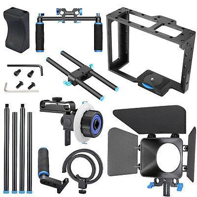 Neewer Alloy Movie Kit Video for Nikon Sony