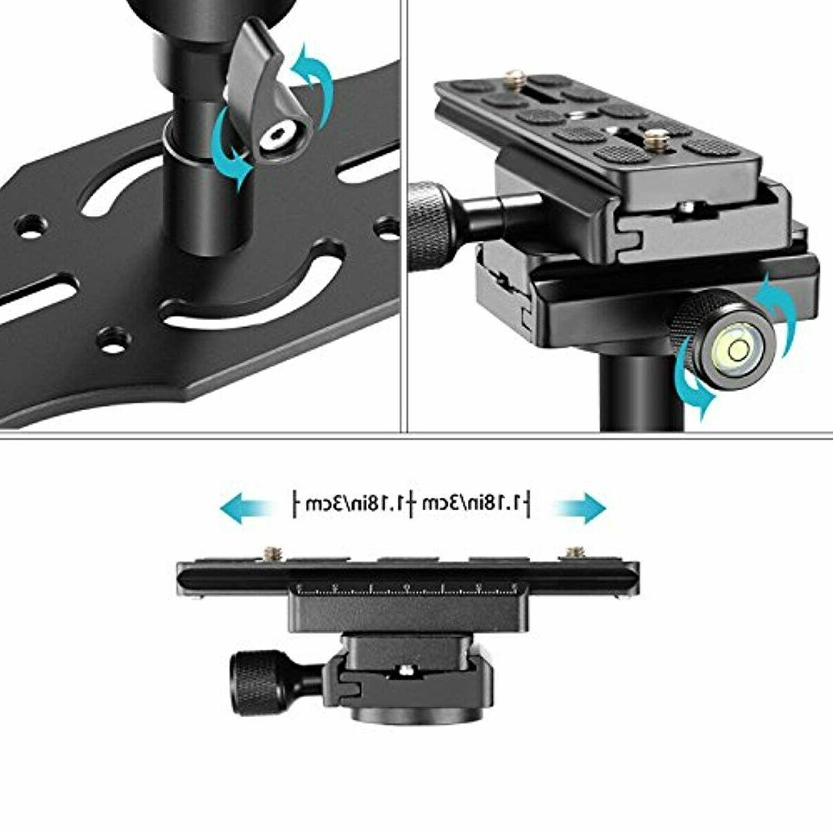 Neewer Alloy Handheld Stabilizer, 24 inches/60 with