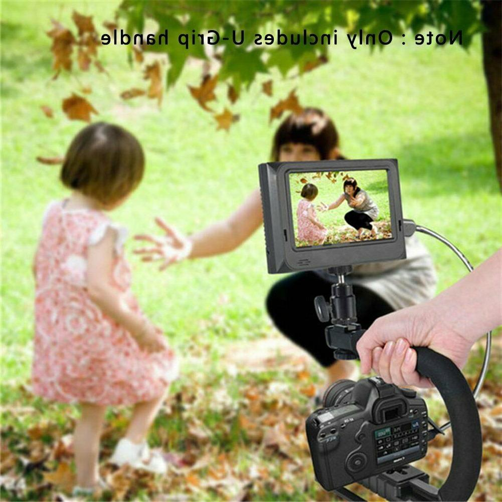 Action Handle Grip Camcorder