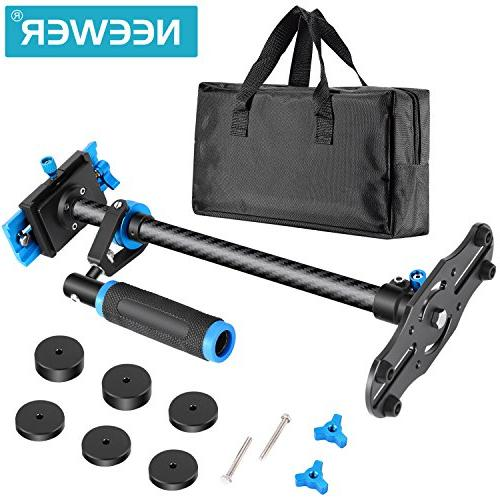 Neewer 24 inches/60 Centimeters Stabilizer with Screw Quick for Nikon and Other Video 6.6