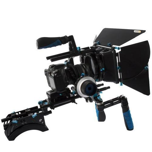 NEEWER® Support Rig with Mount Shoulder Holder Set Matte Box For Canon 5D Mark 2