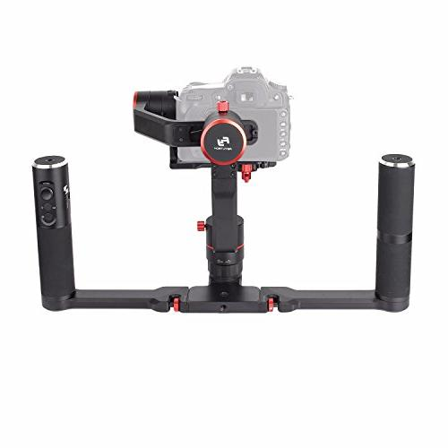 Grip Kit 3-Axis Camera Gimbal FeiyuTech DSLR for 5D 6D Series, A9 Series a6500, GH4/GH5, Payload: Carrying Case.