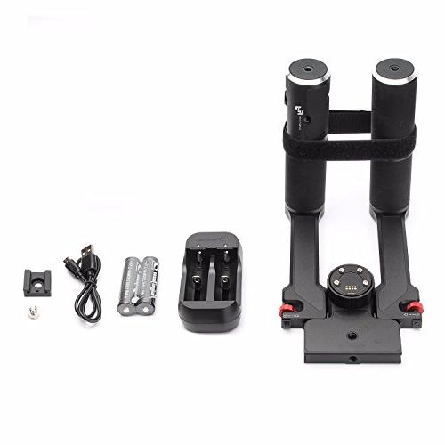 Feiyu Grip Kit 3-Axis Camera Gimbal DSLR Stabilizer for 5D Series, Series a6500, GH4/GH5, w Carrying