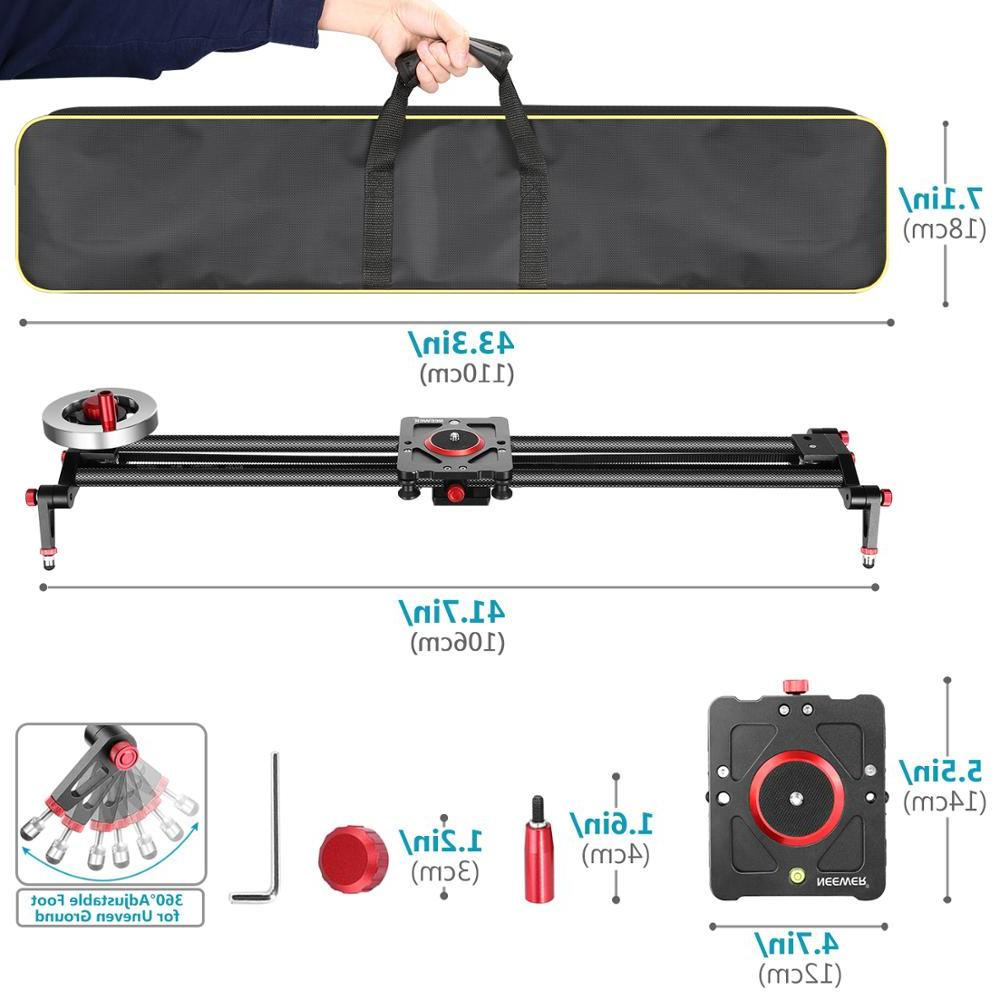 <font><b>Neewer</b></font> Track Dolly <font><b>Stabilizer</b></font> 39-inch/100cm Counterweight Light Carbon
