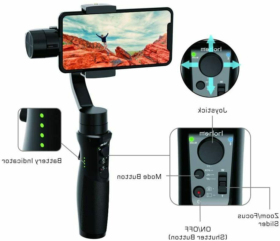Gimbal Stabilizer 11 Pro/Xs/XR Android Smartphone Gimbal,