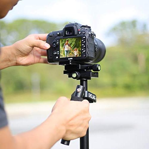 RALENO Handheld Camera Stabilizer Nikon Sony and DSLR Camera Video DV up to 6.6 pounds/3 kg