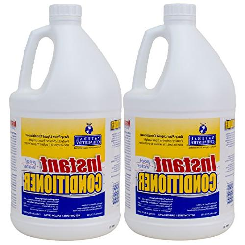instant swimming pool water conditioner
