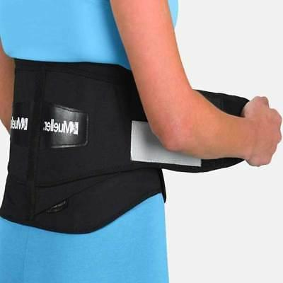 lumbar back brace with removable pad extra