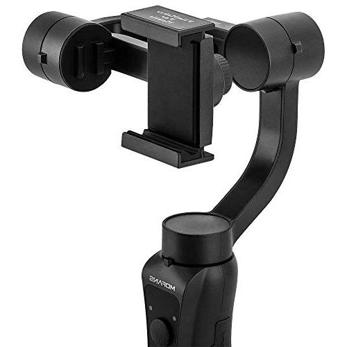 """MOFANS 3-Aixs Gimbal Stabilizer Stabilizer w/Focus Compatible iPhone and Under 6.0"""", APP"""