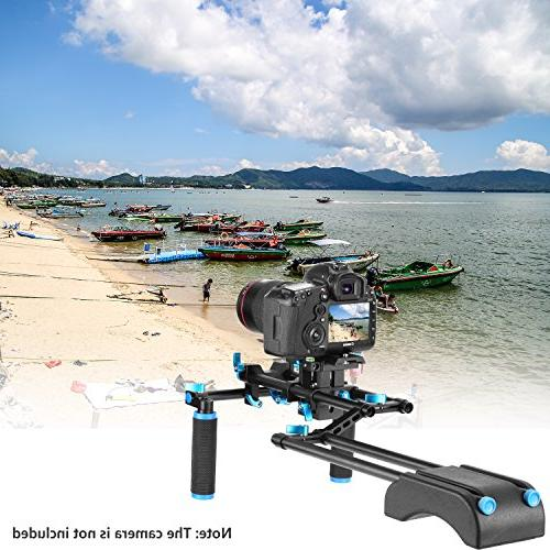 Making Kit Canon Sony Cameras,DV Camcorder,Include:Shoulder Rail Rod