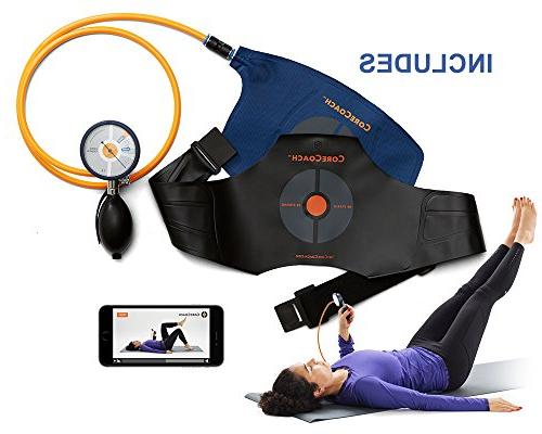 Neck Trainer for Pain Relief+ Training Carry Bag. CORECOACH Pressure