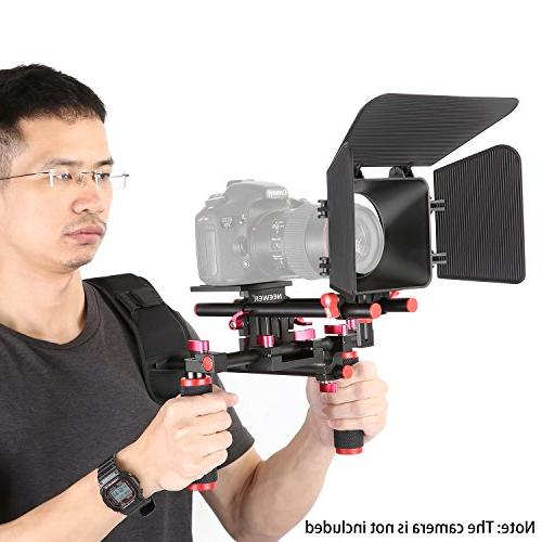 Neewer Camera Making Kit for Sony Cameras, DV Camcorders,Includes: Mount, 15mm Rod Box