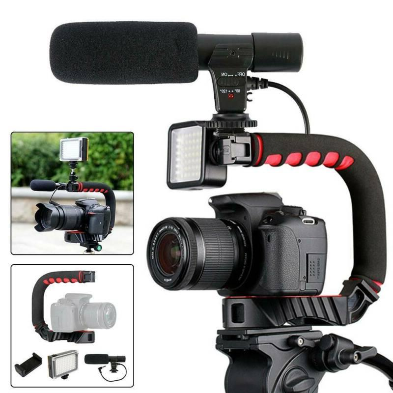 Neewer U/C-Shape Video Action Handheld Stabilizer for Smartp