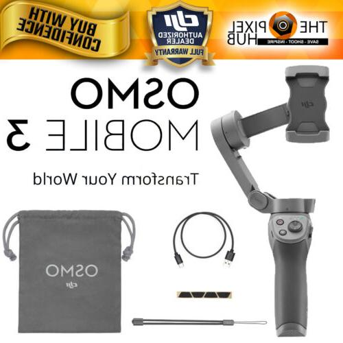 osmo mobile 3 foldable smartphone gimbal in