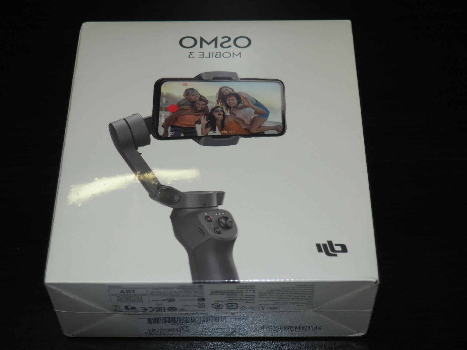 osmo mobile 3 gimbal stabilizer