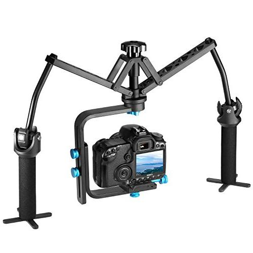 Neewer Handheld Mechanical Stabilizer Joint Alloy for Canon Nikon Sony and DSLR Cameras pounds/6 kilograms