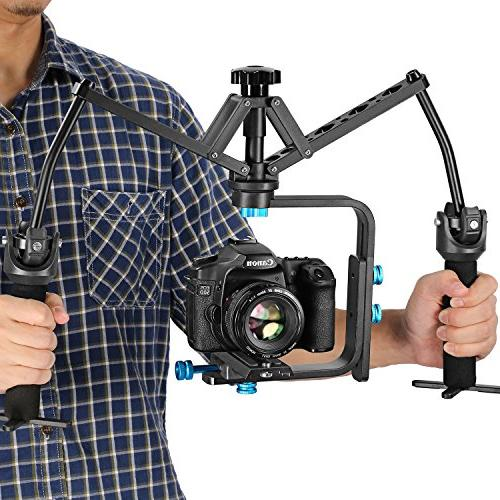 Neewer Handheld Stabilizer Bearing Aluminum Alloy for Nikon DSLR Cameras DV Camcorders