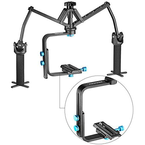 Neewer Portable Handheld Mechanical Stabilizer Bearing Nikon Sony and DSLR Cameras Camcorders up to pounds/6