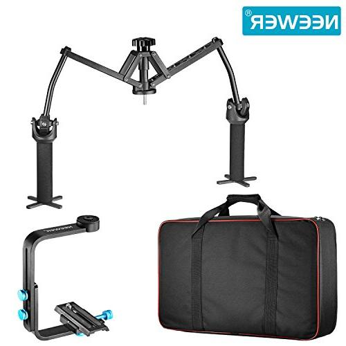 Neewer Portable Stabilizer Bearing Aluminum Alloy Nikon Sony and DSLR Cameras DV Camcorders up pounds/6