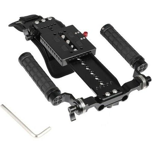 CAMVATE Mount with and Dual Handgrips